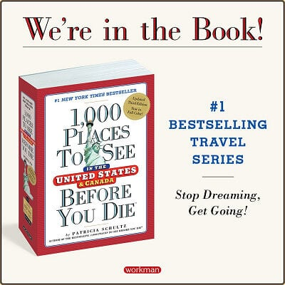 1000 Places To See graphic