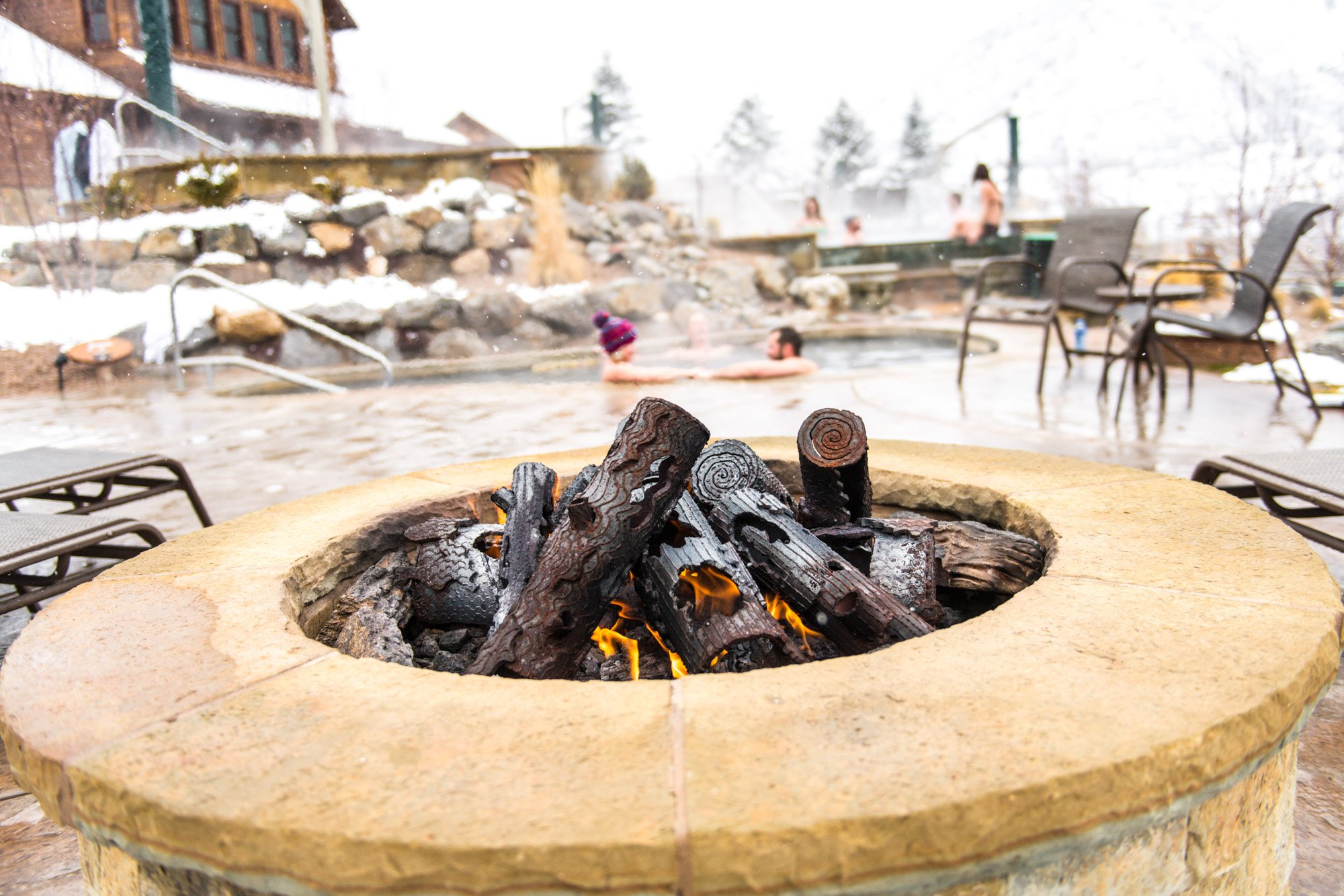 Happy Hygge! Enjoy the Nordic cozy tradition at Iron Mountain Hot Springs