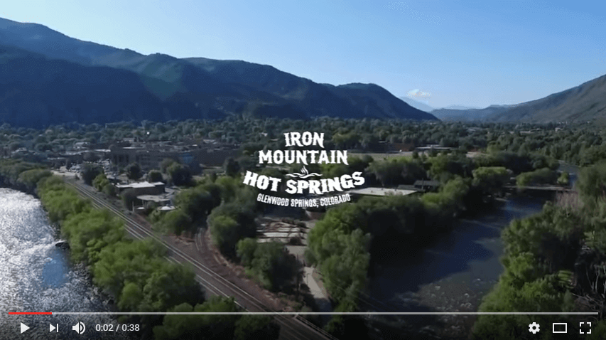 Aerial Views of Iron Mountain Hot Springs