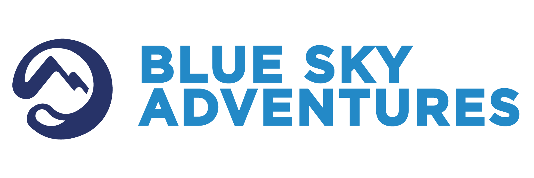 Blue Sky Adventures logo