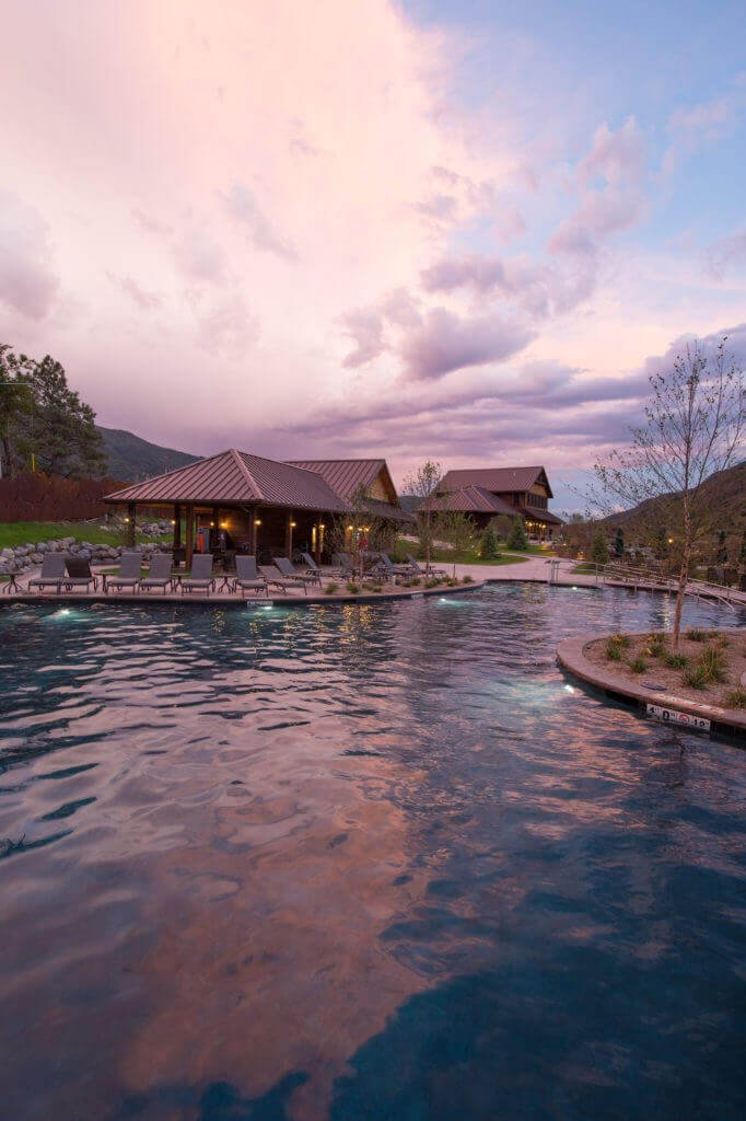 Reduced capacity at Iron Mountain Hot Springs for a more relaxing soak