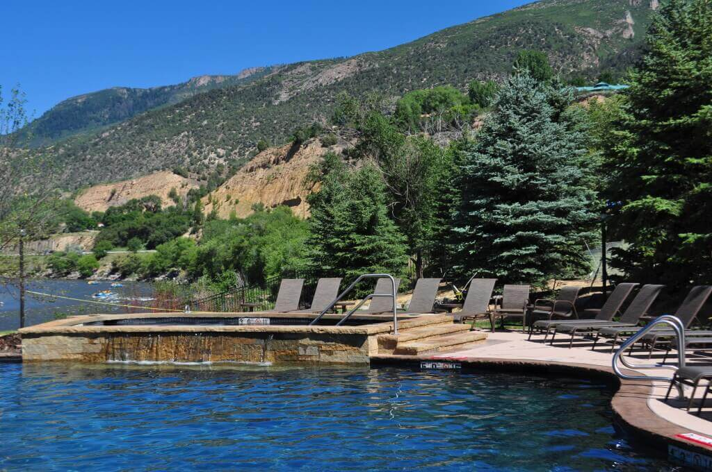 Riverside views, hot springs and the surrounding beauty add to Iron Mountain Hot Springs appeal