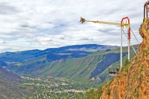 Giant Canyon Swing View from Exclamation Point