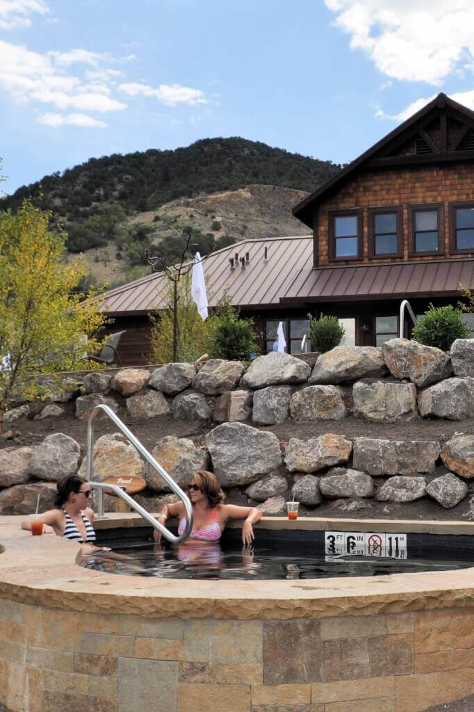 Girls' weekend at the Iron Mountain Hot Springs
