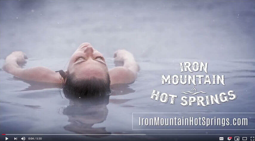 Practice of Mindfulness at Iron Mountain Hot Springs