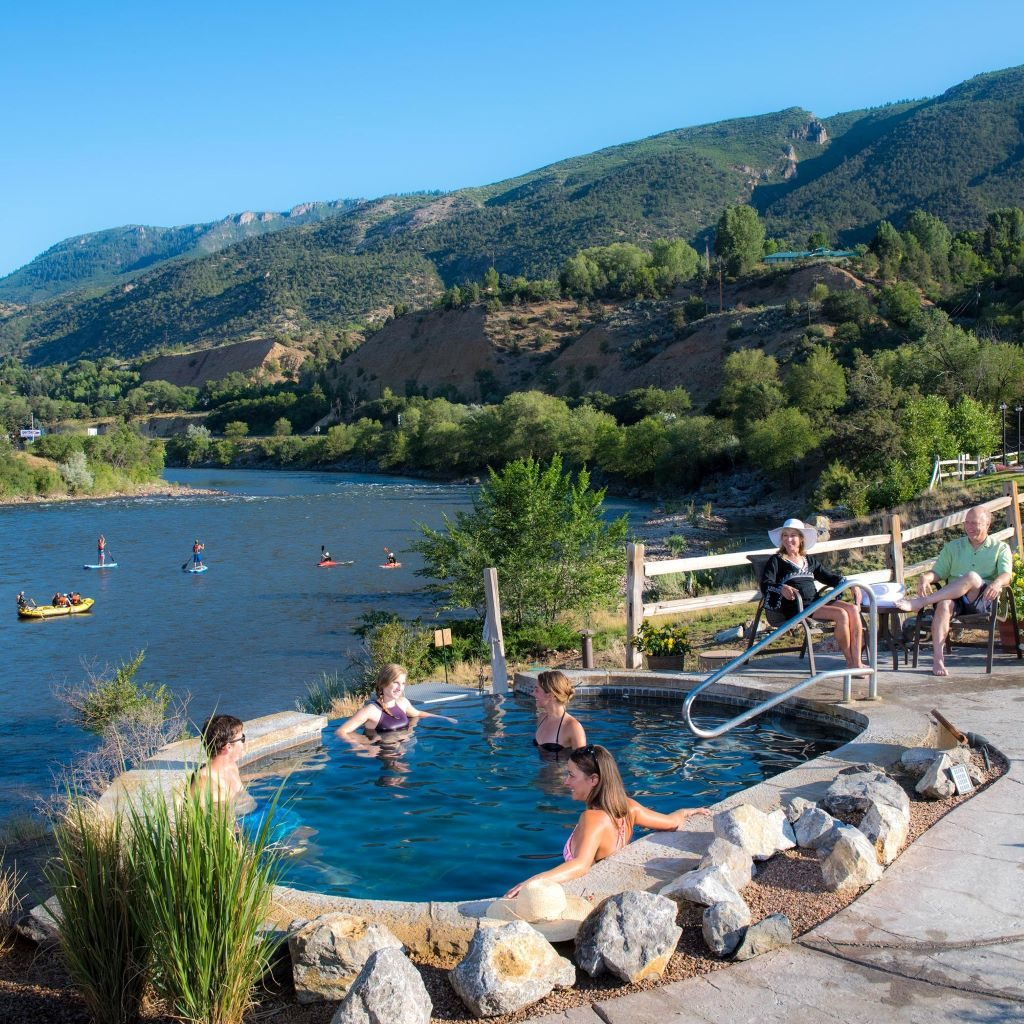 Hydrotherapy at Iron Mountain Hot Springs
