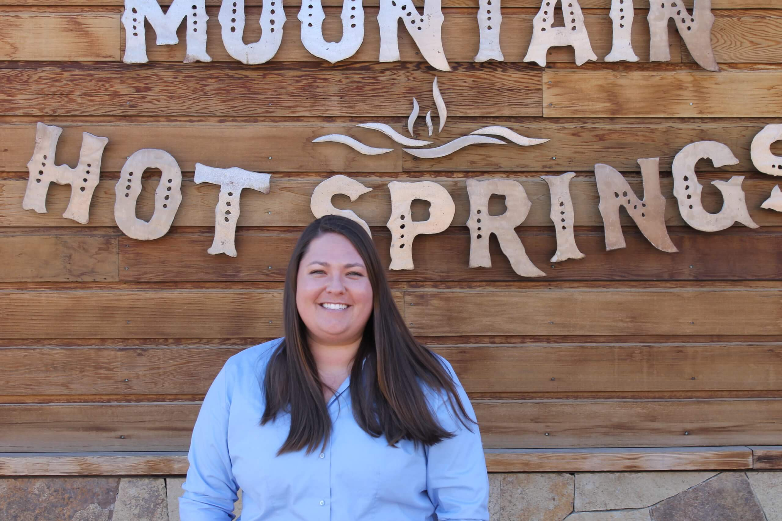 Stephanie Hamilton, Assistant GM at Iron Mountain Hot Springs