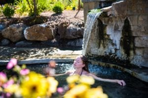 Relaxing at Iron Mountain Hot Springs on the Colorado Historic Hot Springs Loop