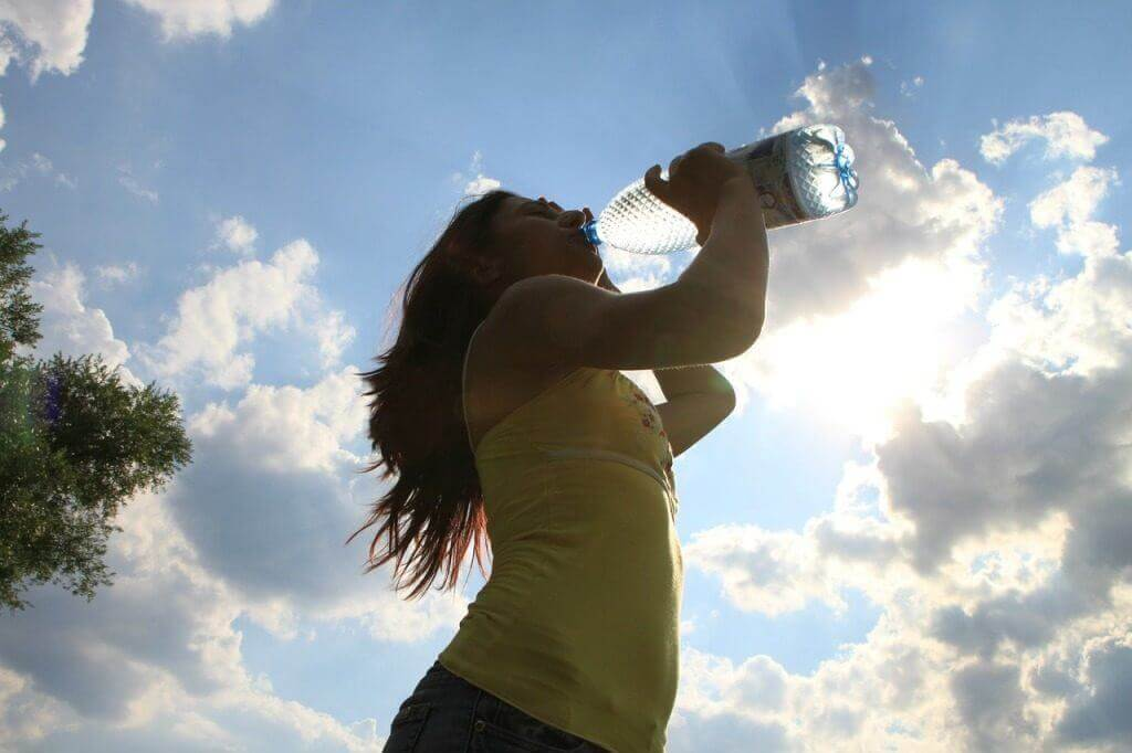 Drink plenty of water while soaking to stay hydrated
