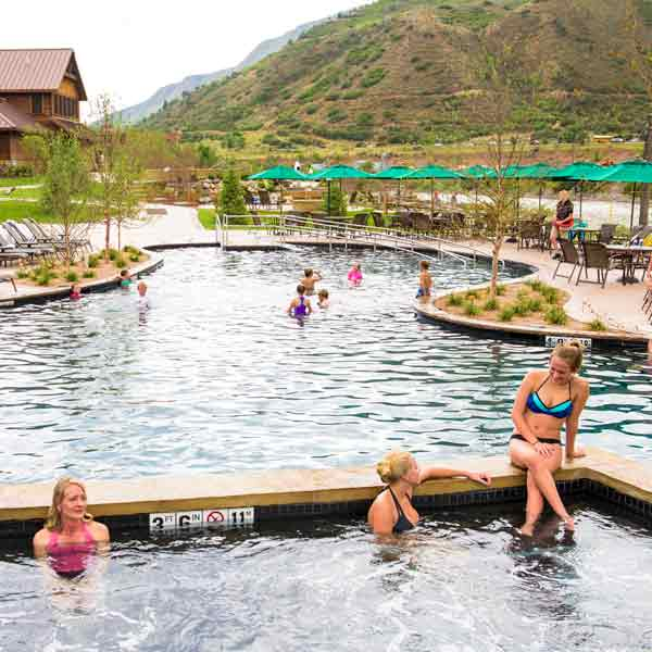 Disconnect to reconnect at Iron Mountain Hot Springs