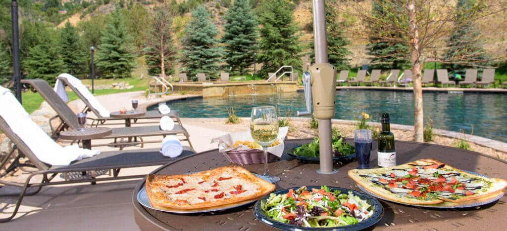 Relax with good food from the Sopris Cafe