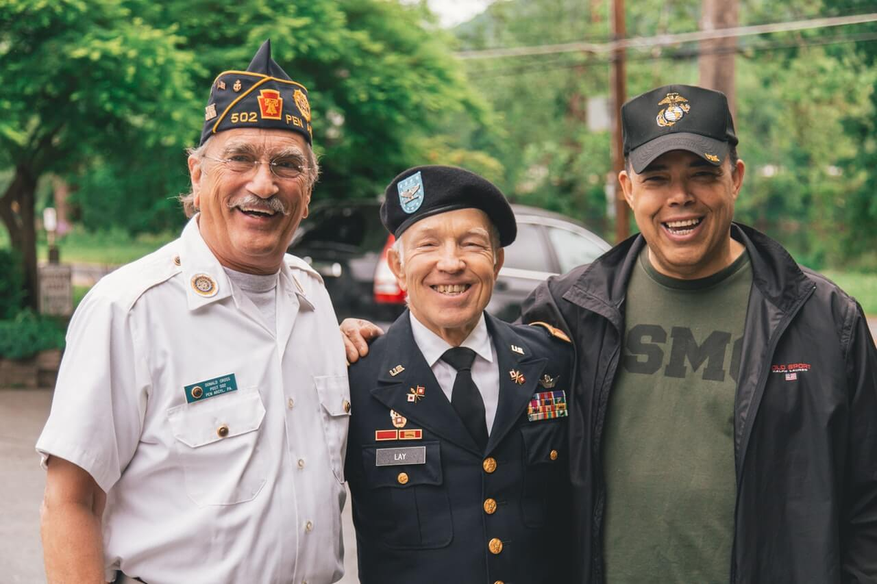 Group of veterans. Photo by Craig Adderley from Pexels