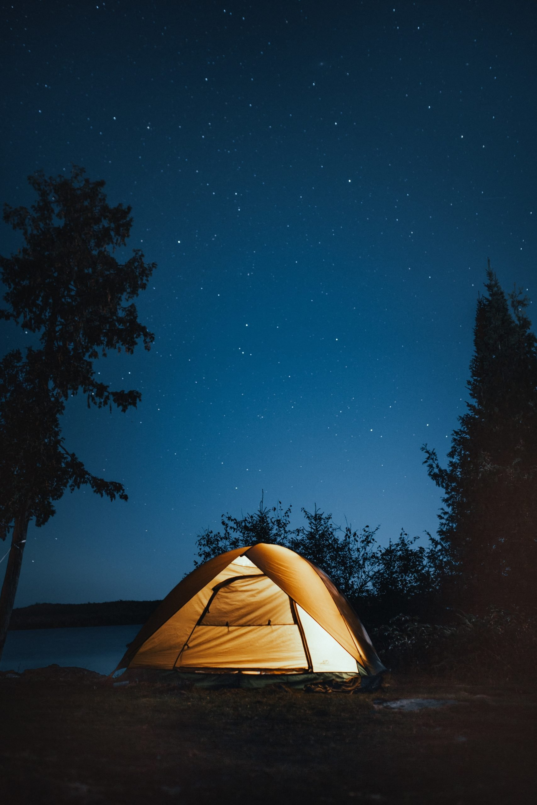 Camping is a wonderful way to experience nature